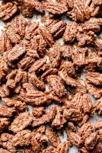Candied Pecans Recipe | Yummly