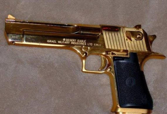 Where could you get your guns gold plated? | Sherdog Forums | UFC