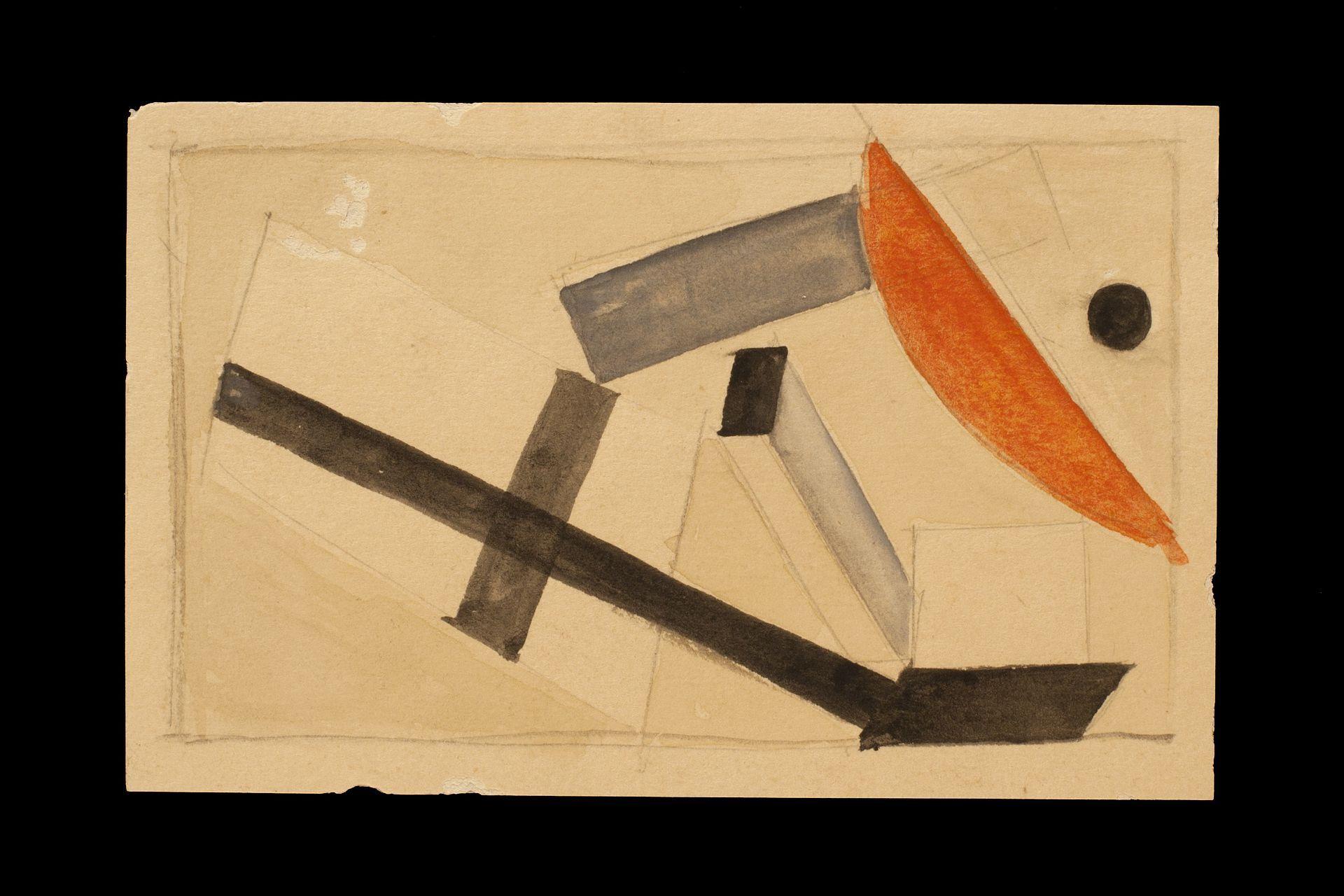 El Lissitzky Proun 1924 - Abstrakte Kunst – Wikipedia