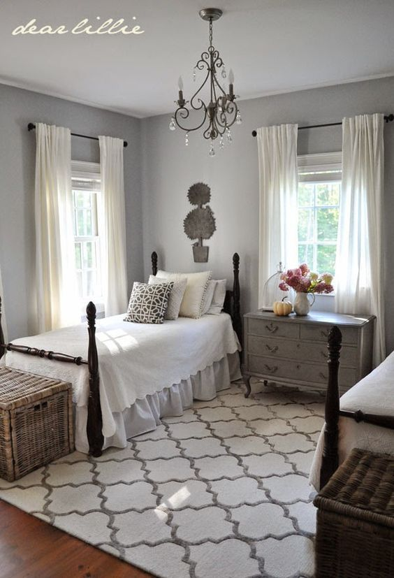 Dear Lillie With Images Twin Beds Guest Room Guest Bedroom Home Bedroom