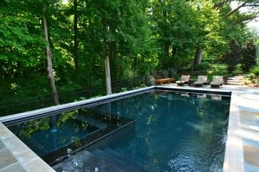 Black Gunite Pool Design Ideas, Pictures, Remodel and Decor ...