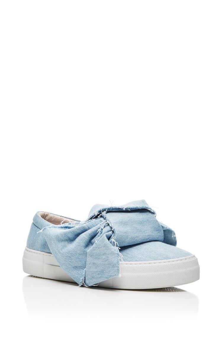Denim Slip Ons with Bow Spring/summer Joshua Sanders 2mo6N