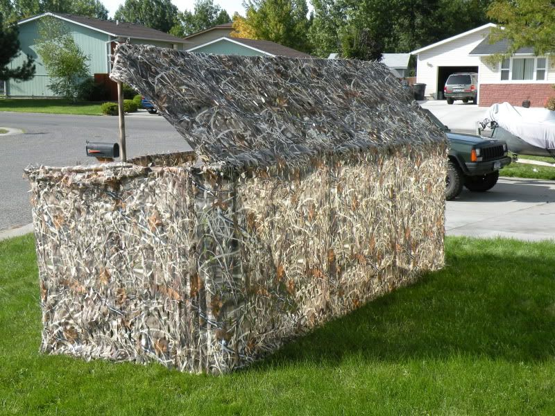 Pvc duck blind build duck hunting geese waterfowl for Pvc ground blind plans