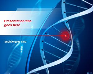 free dna structure powerpoint template is a nice genetics, Presentation templates