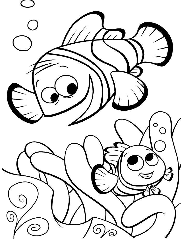 Descargar Gratis Dibujos Para Colorear Buscando A Nemo Dibujos
