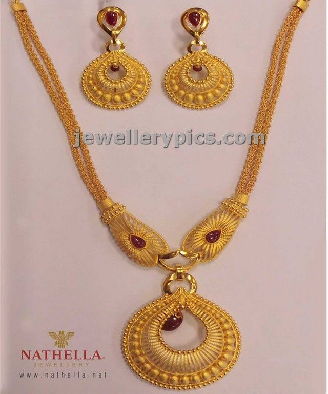 spray work set wt grs ring shaped pendent