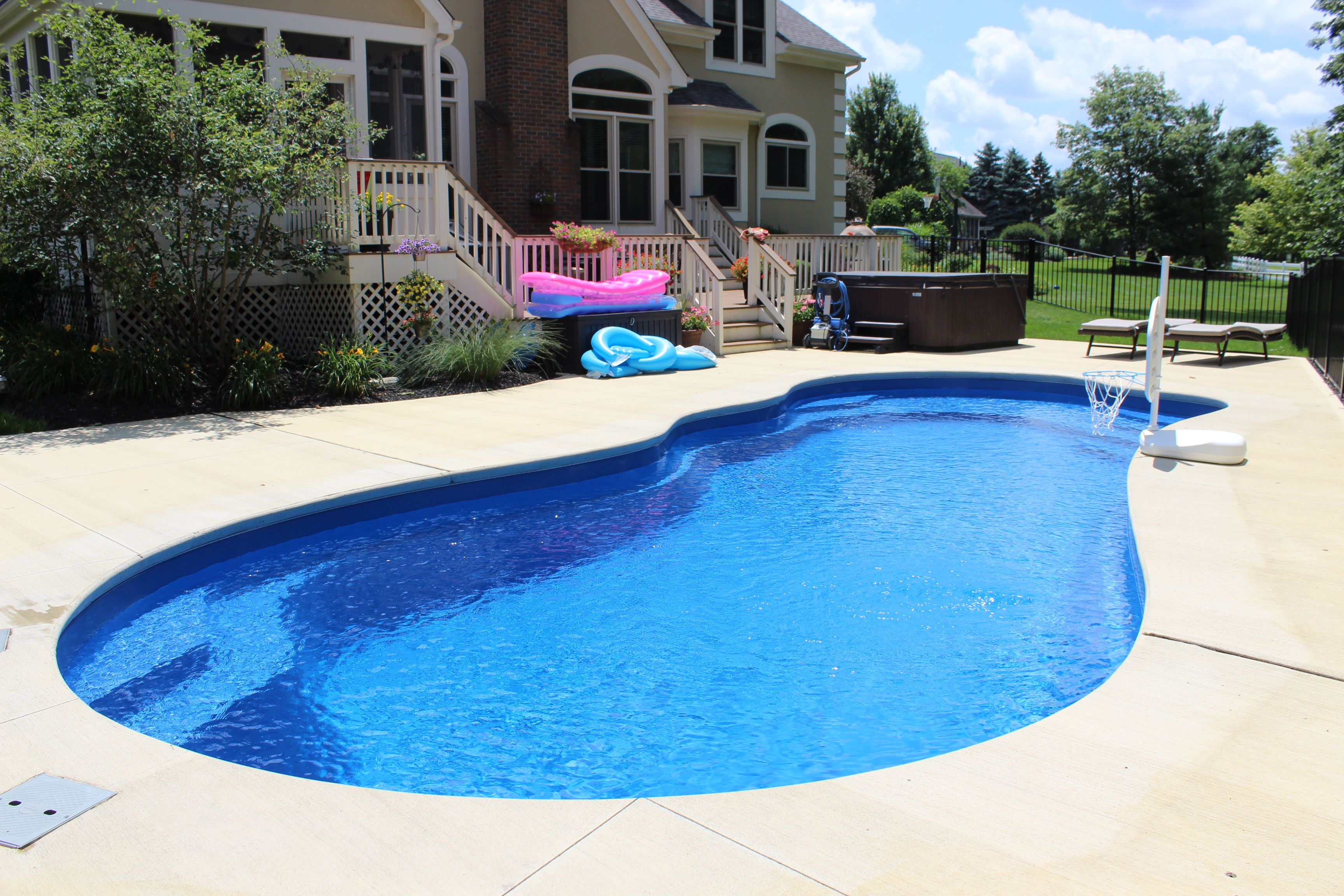 Imagine Pools The Fantasy Pool Fiberglass Swimming Pools Swimming Pools