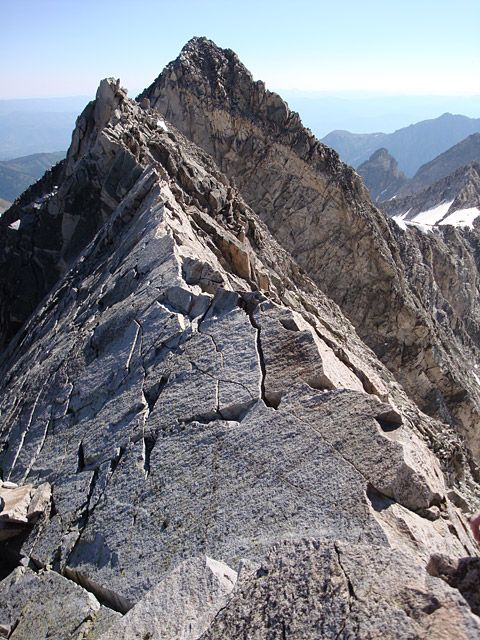This will be my Saturday, Capitol Peak's Knife's Edge