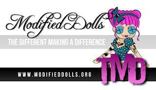 Modified Dolls ! http://beautybytes12.blogspot.com/2013/04/modified-dolls.html