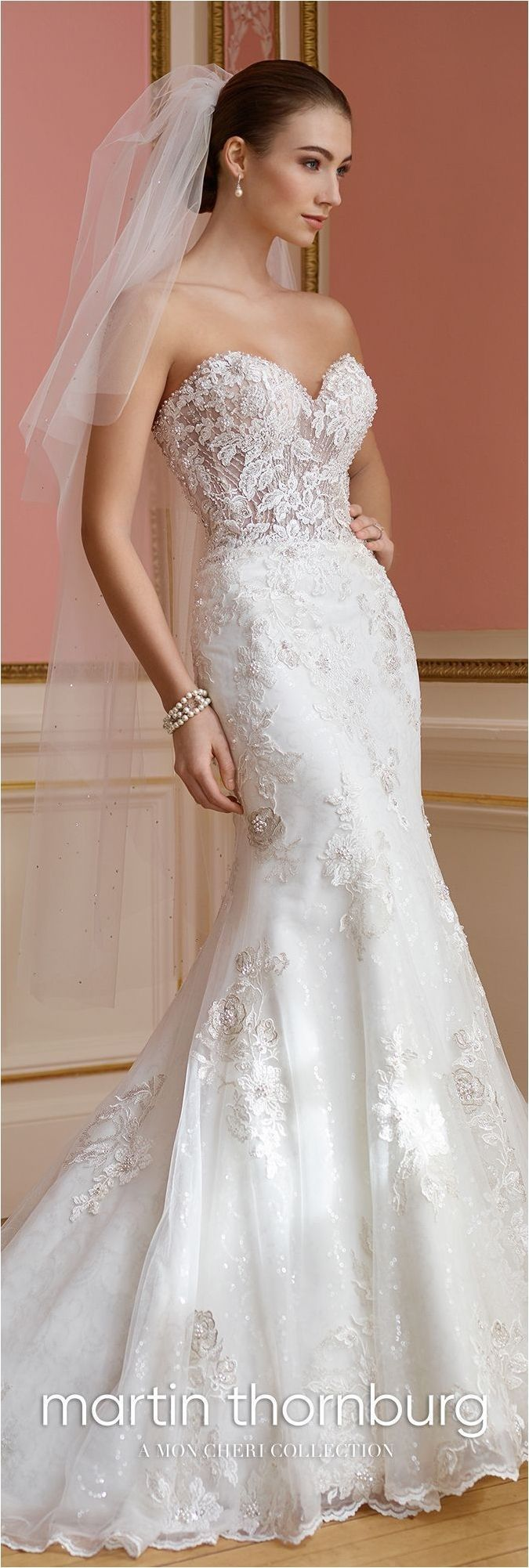Nice Lace Sweetheart Wedding Dresses For Your Spring Wedding https