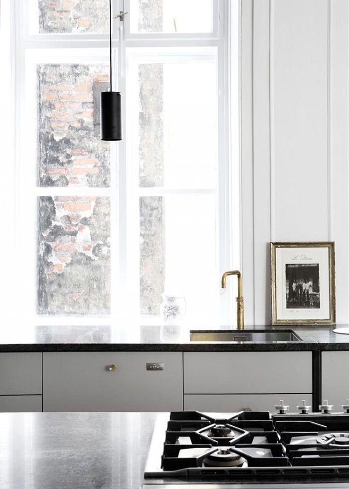Industrial Chic Kitchen with Stunning Details | Kitchen Spaces ...