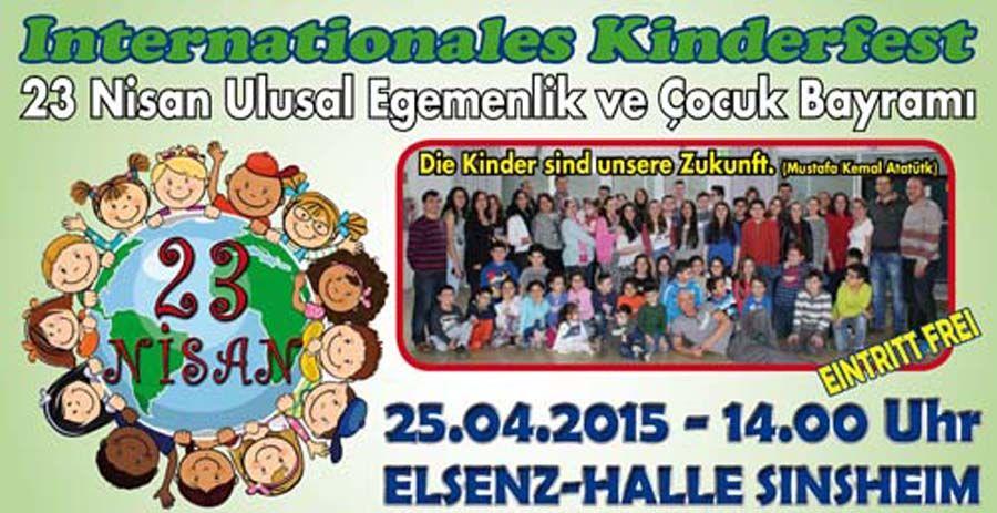 Am Samstag 25. April 2015 ab 14.00 Uhr in der Elsenzhalle Sinsheim