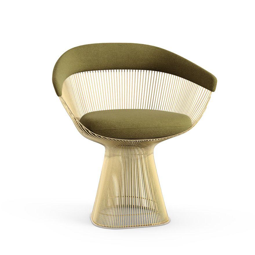 Platner Arm Chair - Gold