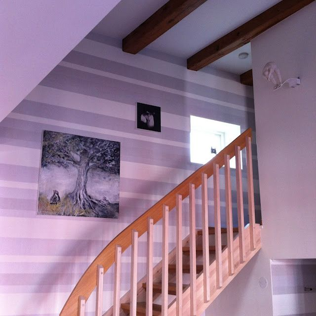 In the stairs. Artist Kristiina´s home.  #art #interior