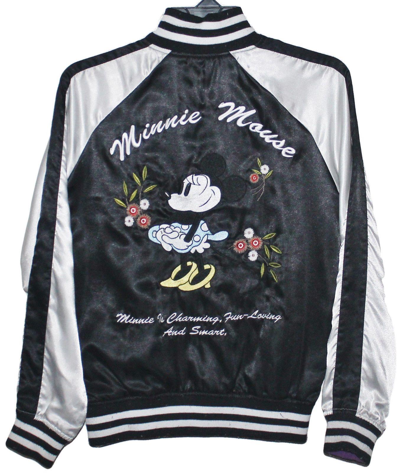 Sukajan Mickey Minnie Mouse Disney Embroidery Japan Souvenir Jacket Bomber Jackets Souvenir Jacket Mickey Mouse Jacket [ 1600 x 1354 Pixel ]