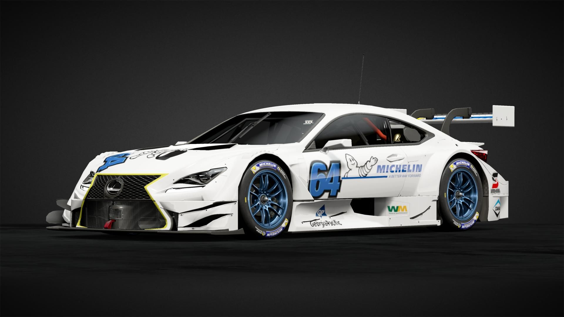 Lexus Super Gt Car Livery By Yatkinson64 Community Gran Turismo Sport Gt Cars Lexus Car