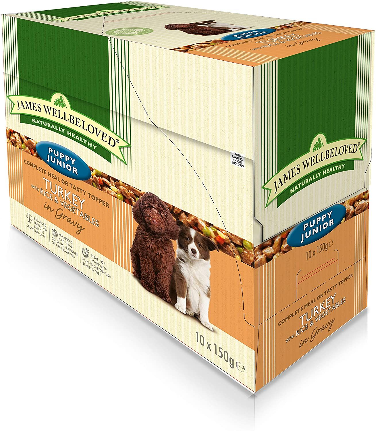 James Wellbeloved Puppy Pouch Turkey With Rice And Vegetables 10 X 150 G Pet Supplies Am Amazon Affiliate Link C In 2020 Dog Food Recipes Puppy Food Healthy Gravy