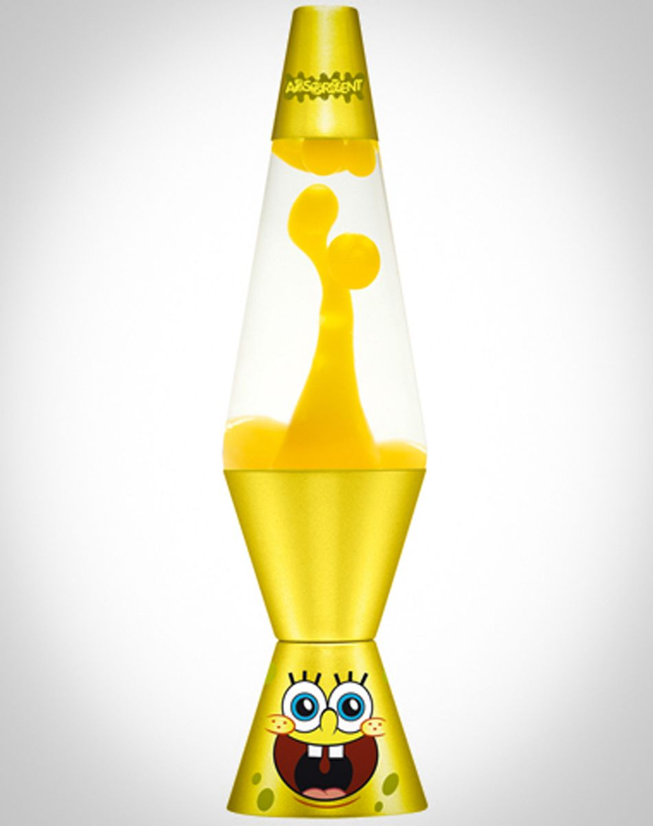 Lava lamp cheap - Spongebob Lava Lamp With Yellow Lava Clear Liquid And Yellow Base