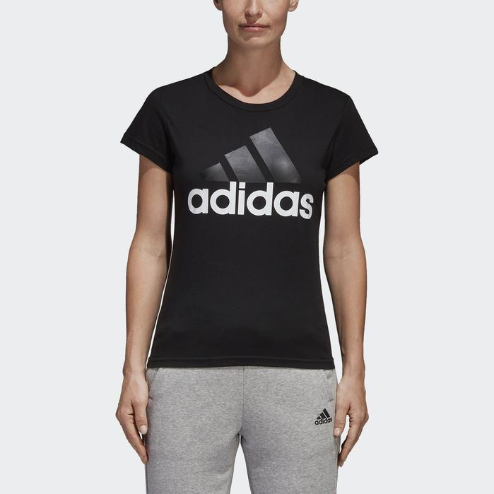 Essentials Linear Tee T Shirts For Women Adidas Neo Adidas Women