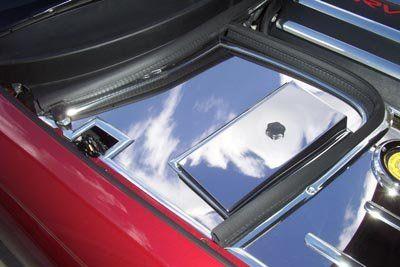 C5 1997 2004 Corvette Polished Battery Fuse Box Cover Fuse Box Cover Fuse Box Covered Boxes