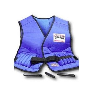 AllPro Weight Adjustable 20lb Power Vest helps users