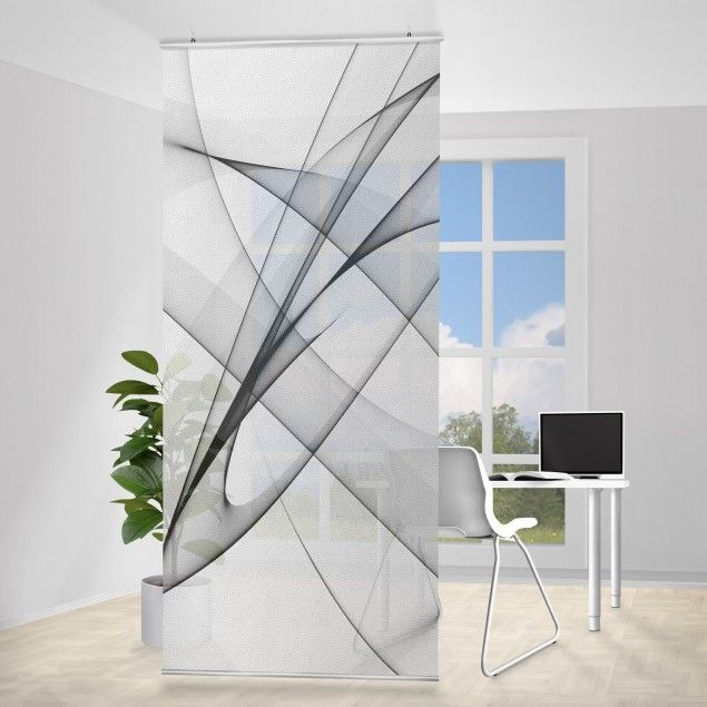 Raumteiler Vibration 250x120cm Raumteiler Raumteiler
