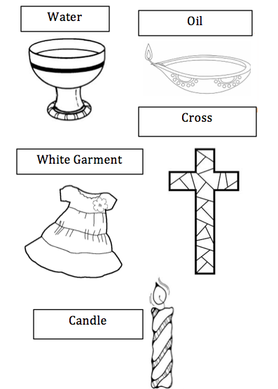 Aspects Of The Baptism And Represent A Number Of Things