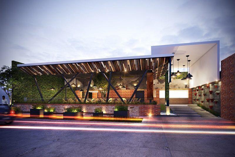 Pin Oleh Michelle Di Cafe Arsitektur Eksterior Rumah Impian