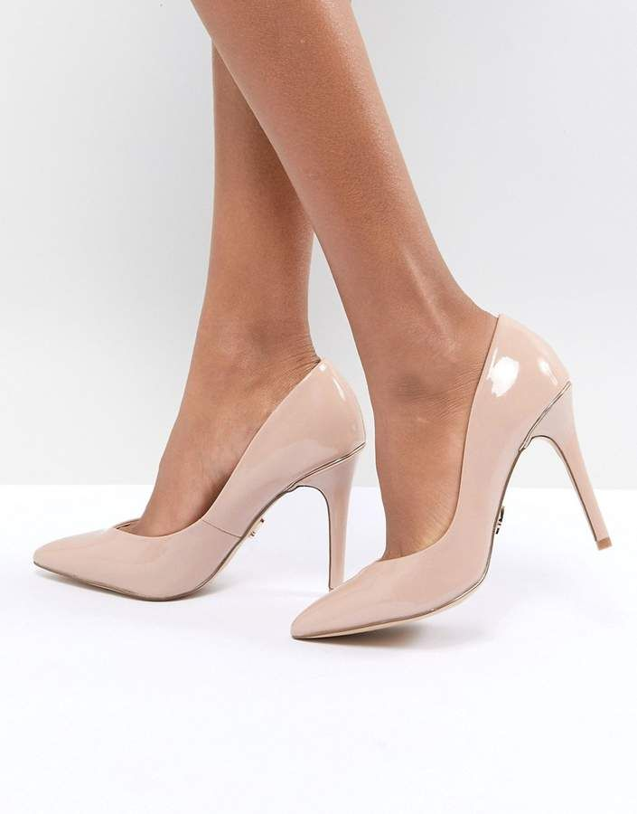 Pointed Gold Detail Court - Pink Lipsy UXN4B