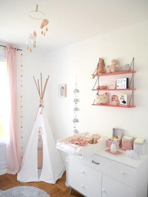 La chambre bébé de Léa | Room | Déco chambre bébé, Idée déco ...