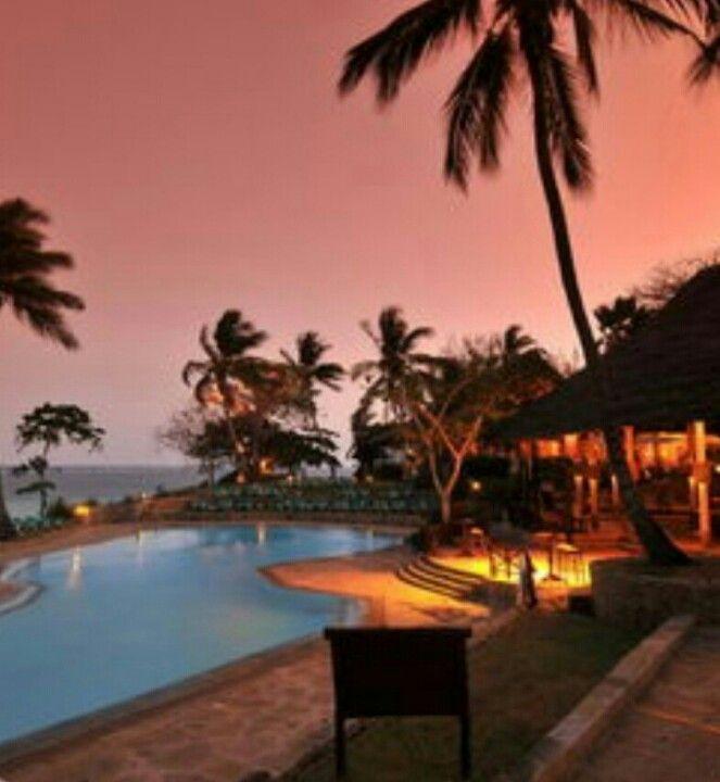 Baobab Beach Resort Mombasa Kenya