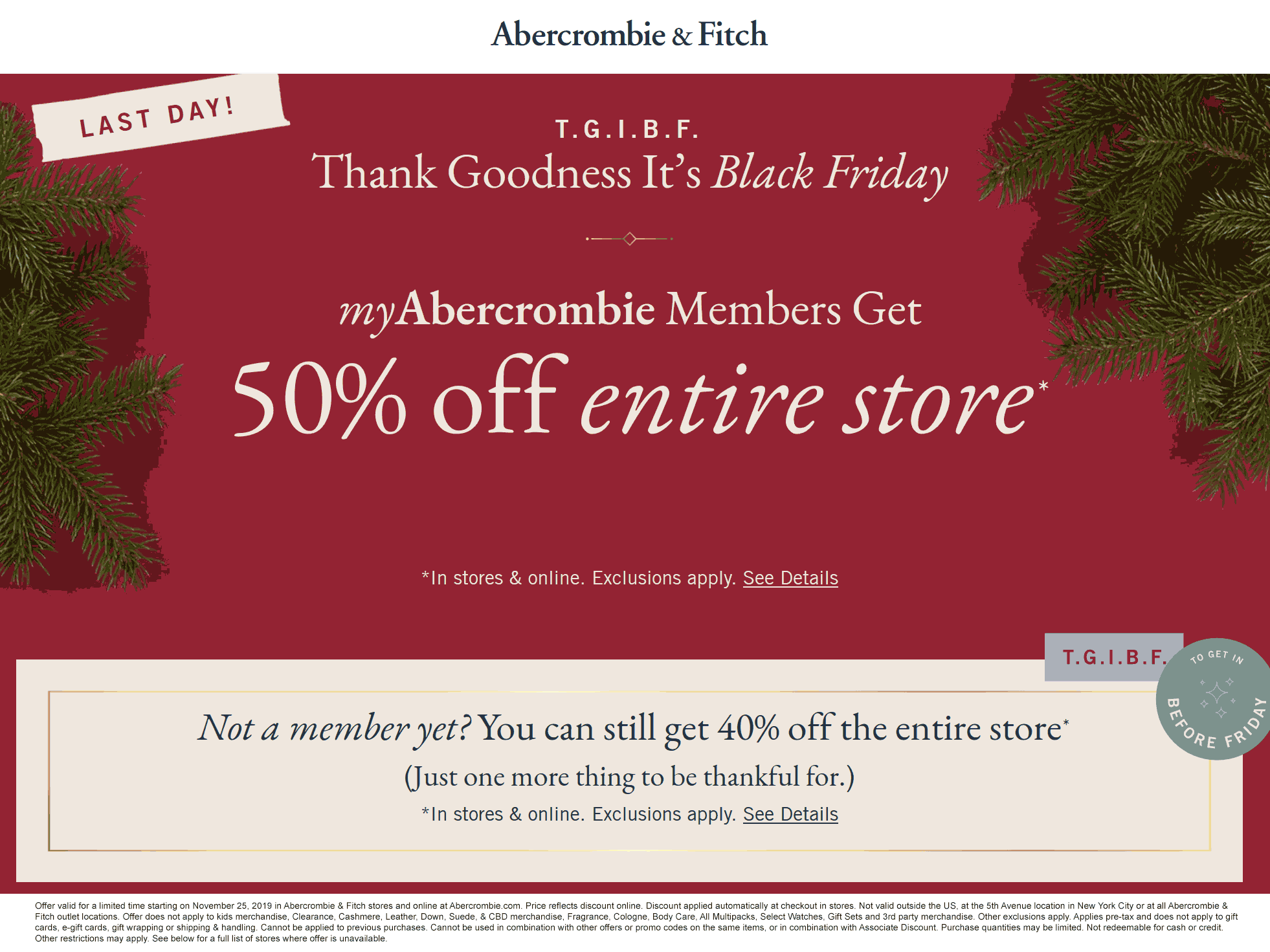 Abercrombie & Fitch 🆓 Coupons & Shopping Deals! Shopping