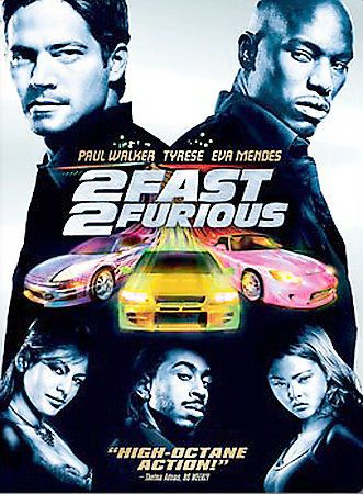 2 Fast 2 Furious Dvd 2003 Full Frame Tyrese Gibson Paul Walker