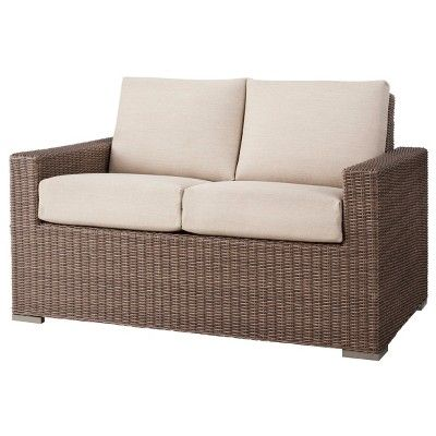 Patio Loveseat Wicker Furniture, Heatherstone Patio Furniture