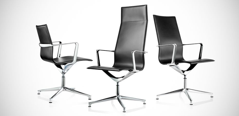 Executive Designer Chairs Kuna By ICF Office Italian Office - Italian office chairs