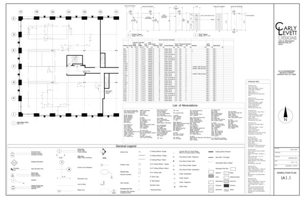 Construction Documents Partial Set Demolition Plans Pinterest