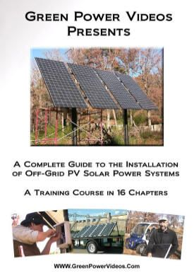 Solar Installation Video Off Grid Training 4 Hour Dvd Course Solar Power System Solar Solar Installation