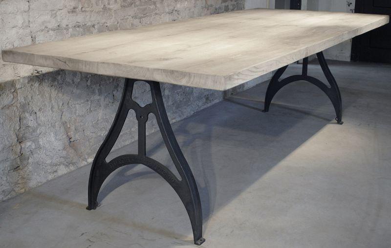 10x Ronde Salontafel : Industriële tafel met gietijzeren poten huis