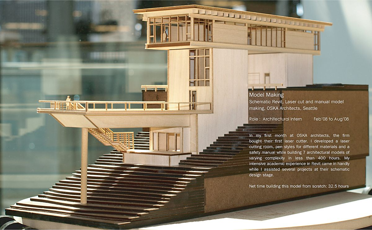 Model making varun thautam archinect architecture for Model house building materials