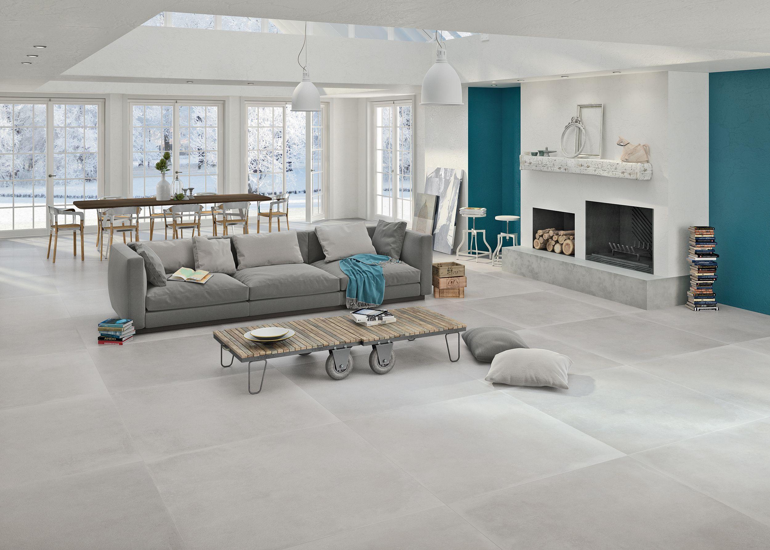 Vloertegels in 120x120 in een mooie grijze tint (03-RO), Tegelhuys ...