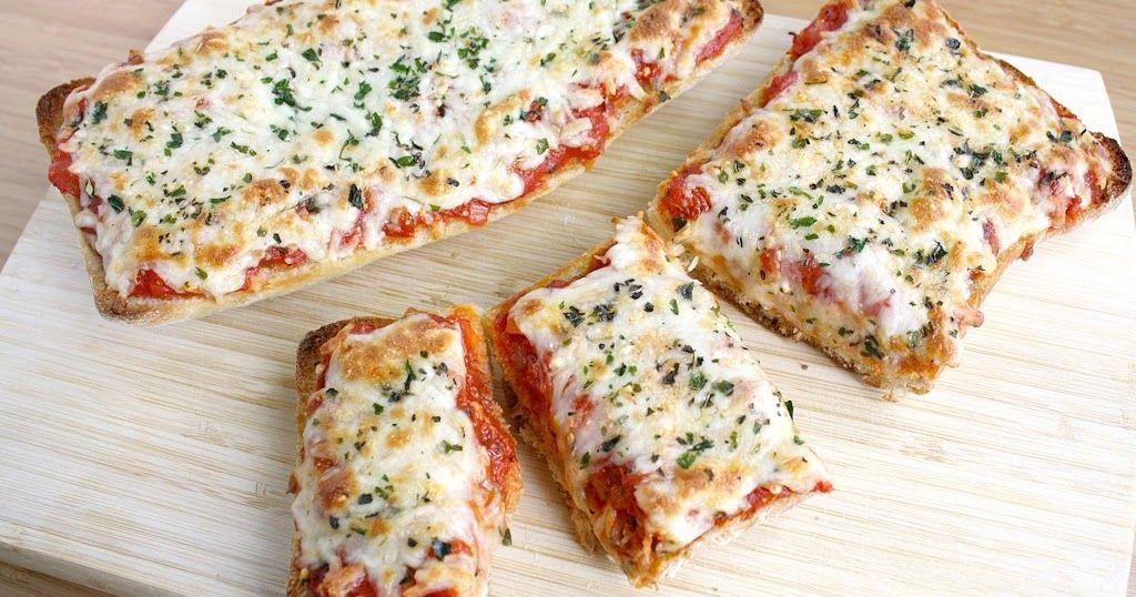 Vegan French Bread Pizza | Recipe | French bread pizza ...