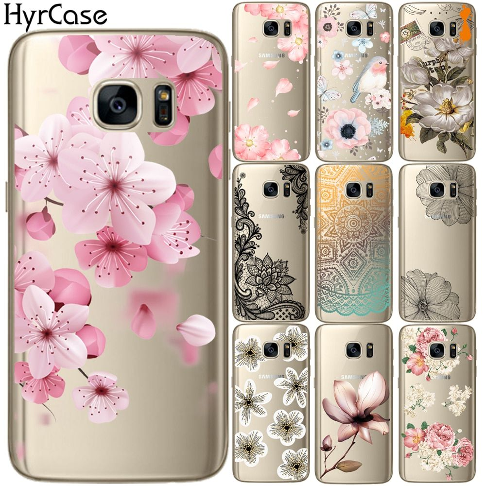 Sexy Floral Pattern Soft Tpu Silicone Phone Back Case Cover For Casing Iphone 4 4s Softcase Motif Owl Samsung Galaxy S5 Mini S6