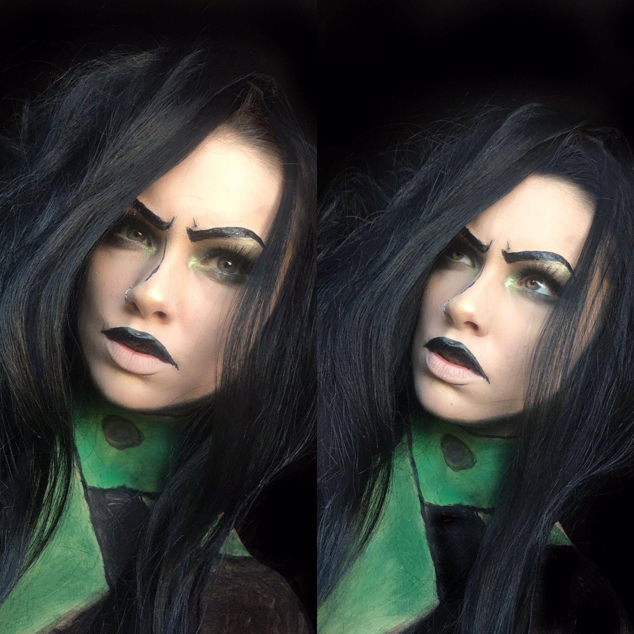 Halloween 2020 Kim Shego from Kim Possible Makeup | Disney halloween makeup