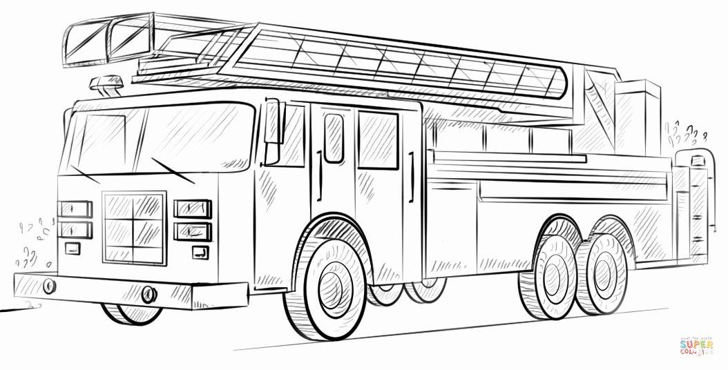 b406a0306d6bea46a60ff141fa9dd3fb » Coloring Pages Fire Trucks