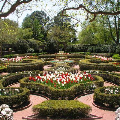Tryon Palace New Bern North Carolina Gardens Landscapes The Kellenberger Garden