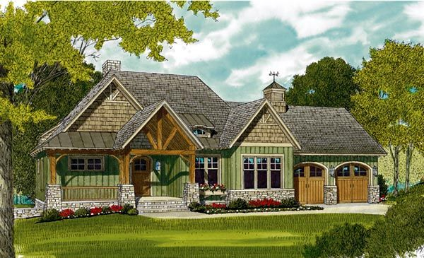 gulf coast cottage hwbdo13183 cottage from builderhouseplanscom