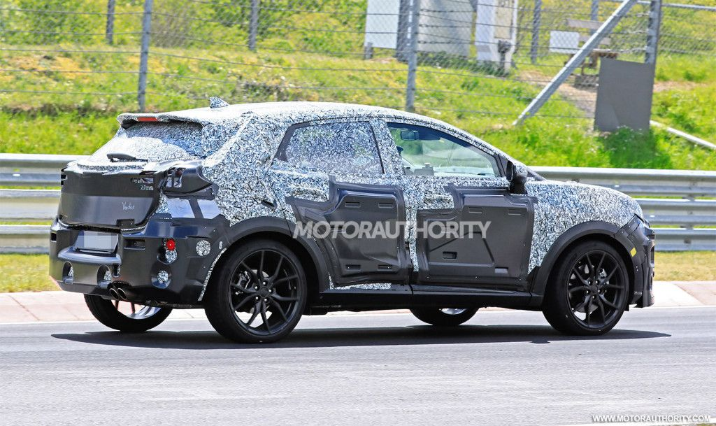 2020 Ford Puma St Spy Shots