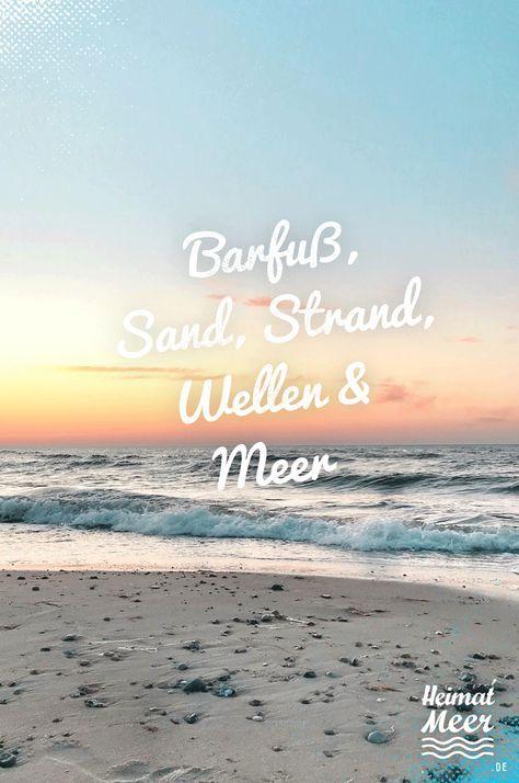 Barfuß, Sand, Strand, Wellen & Meer /Strandklamotte, Deko & Mee(h)r auf heimatmeer.de >>
