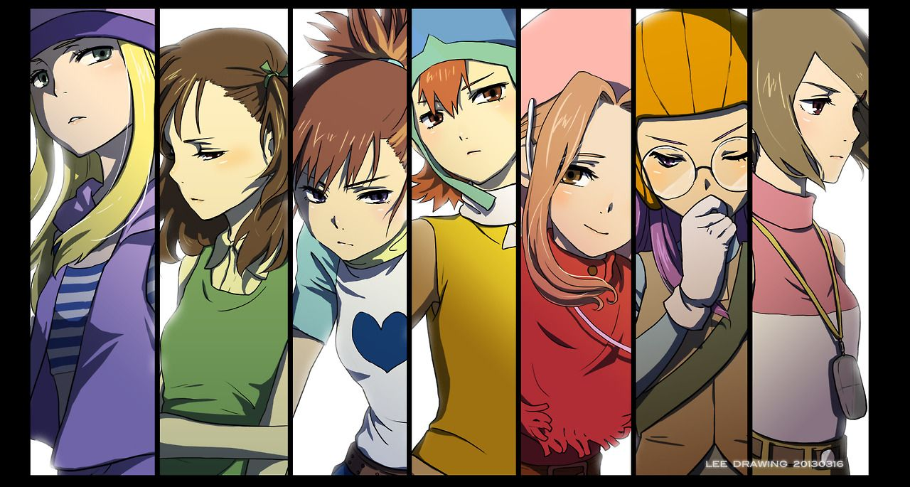 nude pics of girls from digimon all series