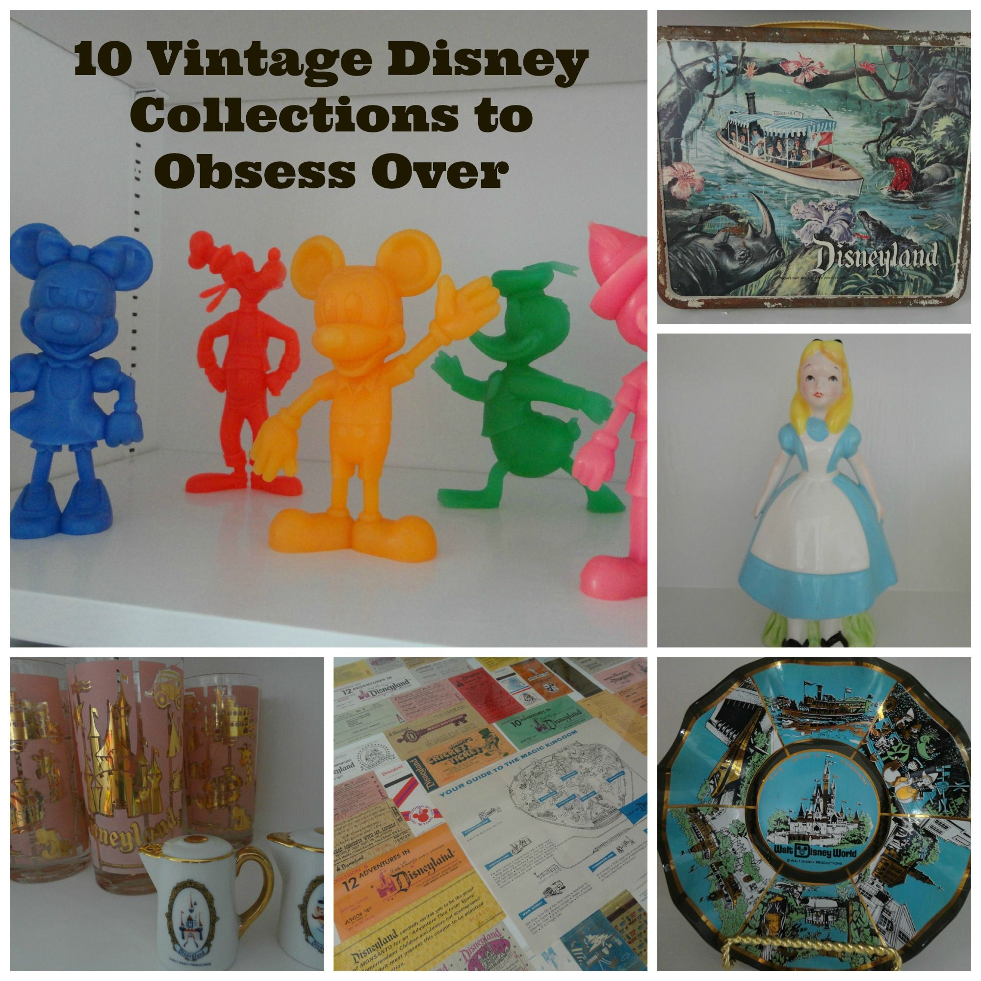 Disney Items Can Be Found In Just About Every Antique Store You Step Foot Into Heres 10 Vintage Collections That Will Have Obsessed No Time
